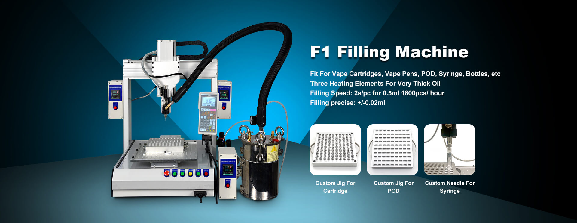 cartridge filling machine